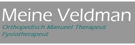 Meine Veldman - Orthopedisch Manuele Therapeut